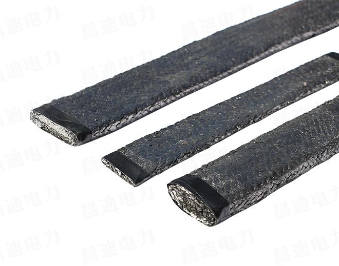 Graphite ground strap