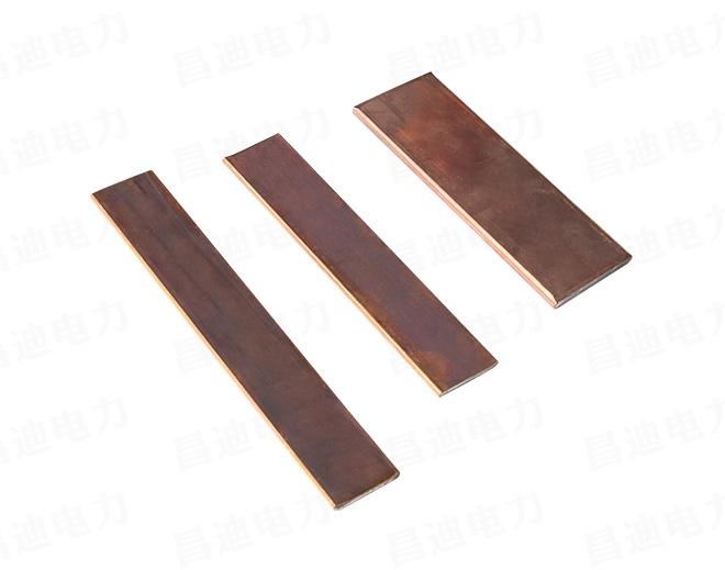 Copper clad steel flat steel