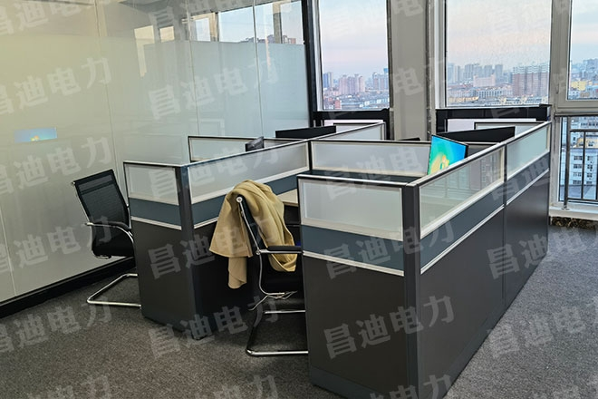 Sales office area